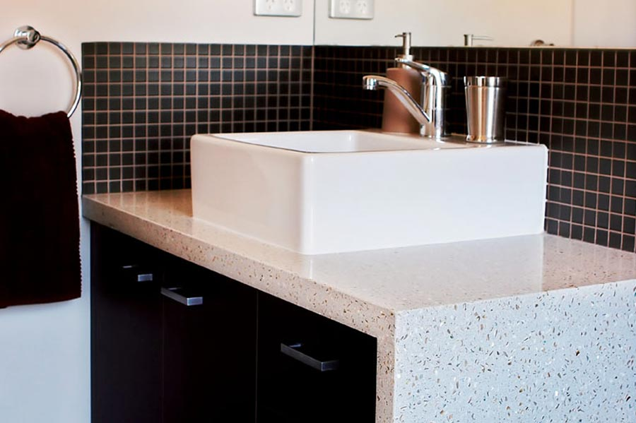 Bathroom benchtops